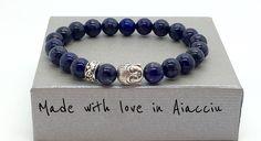 bracelet en LAPIS LAZULI 1er choix : Bracelet par made-with-love-in-aiacciu