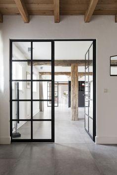 Trappenhuis vloer/deur