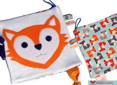 #Schmusetuch #Fuchs ♥ Geschenk zur Geburt ♥  von Riekchen auf DaWanda.com