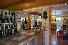 Beautiful wine tasting room nestled alongside Taos Plaza.