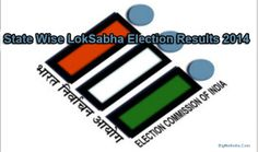 State Wise General Election Results List 2014