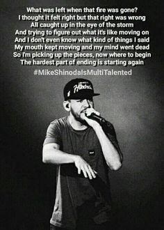 Waiting for the end lyrics