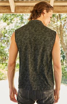 Men Festival Clothing Burning Man Shirt Steampunk Shirt | Etsy Steampunk Vest, Bohemian Style Men, Festival Outfits, Festival Clothing, Hipster Tops, Psychedelic Pattern, Burning Man Fashion, Tank Man, Man Shirt