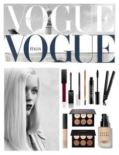 Bold•Classic• | Vogue | by amour24xo on Polyvore featuring polyvore, beauty, Gucci, Bobbi Brown Cosmetics, Lord & Berry, By Terry, NARS Cosmetics, Sisley Paris, Anastasia Beverly Hills and GE