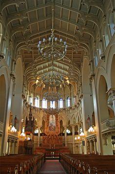 Johanneksen kirkko, Helsinki where I was baptised.