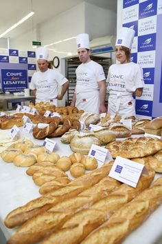 Bread and viennese pastries products Turkish team before jury notation #BakeryLesaffreCup #Africa