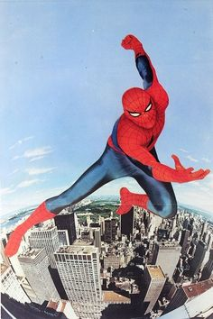 Live Action Spider-Man starring Nicholas Hammond.