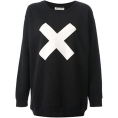 EACH X OTHER oversized 'X' print sweatshirt found on Polyvore