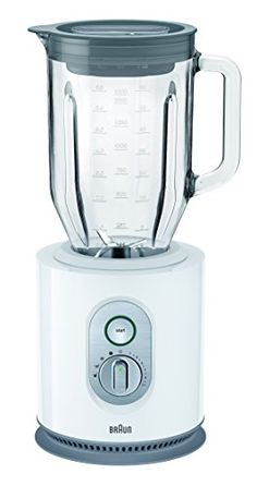 Braun WH 16 Liter 1000 Watt Glass Jar Blender NonUSA Compliant White * Visit the image link more details. Best Juicer, Citrus Juicer, Modern Coffee Table Sets, Free Standing Kitchen Pantry, Hand Held Blender, Coffee Machines For Sale, Kitchen Island On Wheels, Countertop Microwave Oven, Vase