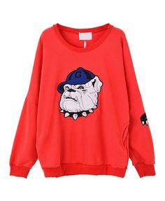 Bulldog Graphic Sweatshirt