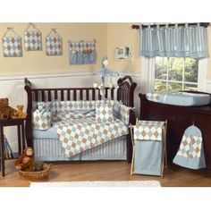 Another baby bedding option.