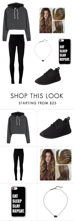 """""""Untitled #836"""" by jessica-smith-xxv ❤ liked on Polyvore featuring H&M, NIKE, MM6 Maison Margiela, Casetify and Kendra Scott"""