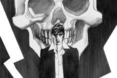 L'illustrazione di Dylan Dog realizzata da Nicola Mari per Crime City Comics 2015