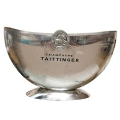 Taittinger Champagne Half Moon Cooler | From a unique collection of antique and…