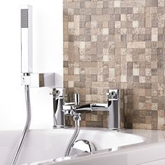 Smarten up your bathroom with the Munro tub shower mixer faucet