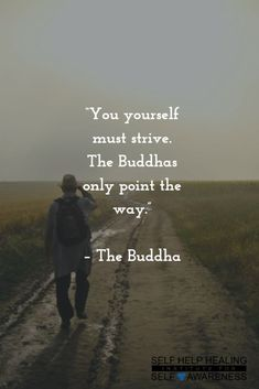 #Quotes by #Buddha - Your salvation is in your own hands. Only you can free your…