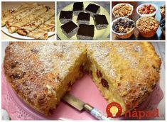 Ak nájdete doma pár hrstí ovsených vločiek, pustite sa do nich: 17 výborných zdravých dezertov, ktoré rýchlo pripravíte a nepriberiete z nich! Banana Bread, French Toast, Food And Drink, Yummy Food, Breakfast, Cake, Desserts, Recipes, Food Ideas