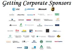 10 tips on getting corporate sponsors for your fundraising event. Article explains how to find sponsorships by seeking companies with both an affinity for your cause, plus a synergy with your event. Use a written business proposal showing what's in it for them. Nonprofit Fundraising, Fundraising Events, Fundraising Ideas, Microsoft, Grant Writing, Relay For Life, School Fundraisers, Business Proposal, Business Goals