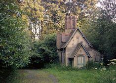 Longhurst Lodge, May 1980 Surrey England Cottages for SaleSurrey England Cottages for Sale Witch Cottage, Cottage In The Woods, Cozy Cottage, Cottage Homes, Cottage Style, Storybook Homes, Storybook Cottage, Porches, Rustic Houses Exterior