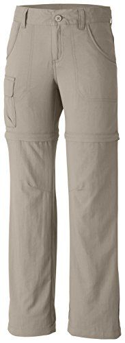 Columbia Girl Silver Ridge III Convertible Pant  Designed for supreme comfort in a wide variety of conditions, this uber-versatile pant features zip-off legs that instantly transform to a 5.25″ inseam short. Light, durable nylon fabric features built-in sun protection and dries fast.       Columbia Girl Silver Ridge III Convertible Pant Features   Omni-Wick moisture management  Omni-Shade UPF 30 sun protection  Zip-off legs convert to 8″ shorts  Interior adjustable waistband ..