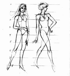 Figure Drawing Artists | ... Mini Art Course, Drawing the human figure, drawing bodies