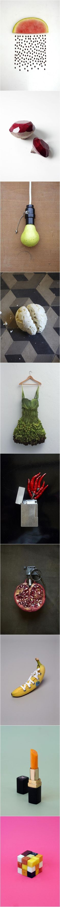 Creative food art // funny pictures - funny photos - funny images - funny pics - funny quotes - #lol #humor #funnypictures