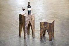 Cathedral or Tunnel Stools from Rail Yard Stools