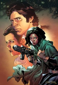 Star Wars #9 - Han Solo and Princess Leia