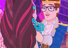 Raven Queen And Dexter Charming