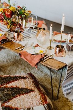 Bohemian tablescape ideas | 100 Layer Cake | Bloglovin'