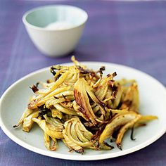 Caramelized Roasted Fennel with Fennel Seeds   MyRecipes.com