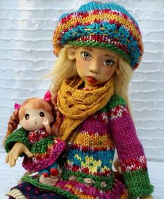 OOAK Handmade MSD BJD Outfit by Barbara