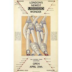 London's newest wonder; Camden Town junctions - Charles W Baker (1924)