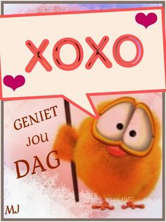 XOXO Geniet jou dag Lekker Dag, Goeie More, Lunch Box Notes, Afrikaans Quotes, Painting Quotes, Best Quotes, Awesome Quotes, Good Morning, Birthdays