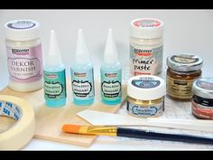 Patina hatás // Patina Effect guide Decoupage Tutorial, Diy Tutorial, Diy Magazin, Candle Stand, Mixed Media Canvas, Health Facts, Painted Furniture, Stencils, Wax