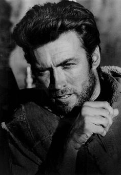 Clint Eastwood photographed for A Fistful of Dollars, 1965.