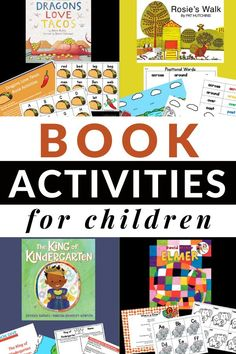 Big List of Book Activities for Children- oodles of resources to use with your favorite children's books. All of the activities are hands-on and build literacy skills. #bookactivities #booksforkids #childrensbooks #education #preschool #kindergarten #toddler #teaching #GrowingBookbyBook Tiny Seed Activities, Reading Activities, Hands On Activities, Children Activities, Reading Skills, Teaching Reading, Preschool Literacy, Literacy Skills, Literacy Activities