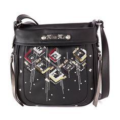 Miss Me Women's Autumn Aztec Crossbody Purse