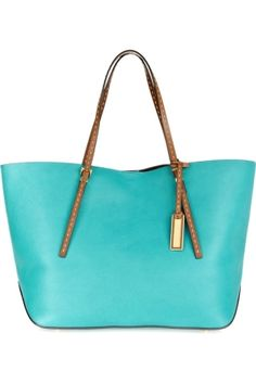 michael Kors, turquoise tote bag by Angelic Harmony