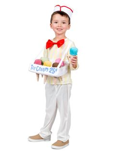 Huge Collection of Food & Drink… Flamboyant Boys Ice Cream Cone Salesman Costume. Huge Collection of Food & Drinks Costumes for Halloween at PartyBell. Funny Toddler Costumes, Toddler Humor, Boy Costumes, Costume Ideas, Halloween This Year, Halloween Costumes For Kids, Happy Halloween, Halloween Ideas, Newborn Halloween