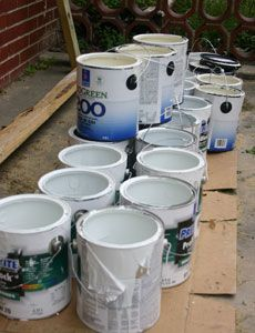 How to Reuse, Recycle or Dispose of Used Paint