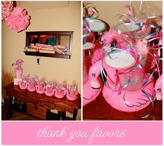 Pink Flamingo party favors!!