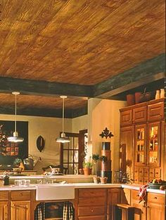 A carpenter will charge $1,365 to hang a plank laminate ceiling system on a drywall ceiling in a 15- by 18-foot room. You can buy the materials for $1,100 and do it yourself, saving 19 percent. The materials include furring strips or metal track, planks, and clips and screws used to hold the planks in position. Lay out the location of the furring strips or track following directions. You'll need a measuring tape, a chalk line and a power or hand saw to cut the planks to length. Use a…