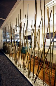 24 ideas for decorative bamboo poles.                              …
