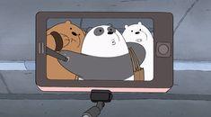 We bare bears Ice Bear We Bare Bears, 3 Bears, Cute Bears, We Bare Bears Wallpapers, Panda Wallpapers, Cute Cartoon Wallpapers, Pardo Panda Y Polar, Bear Gif, Brother Bear