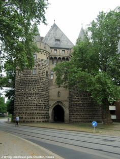 Obertor gate (medieval), Neuss Germany