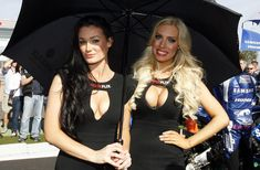 It's not all about the motorbikes on race day! Perfect Image, Perfect Photo, Love Photos, Cool Pictures, Race Racing, Grid Girls, Race Day, Motorbikes, Glamour