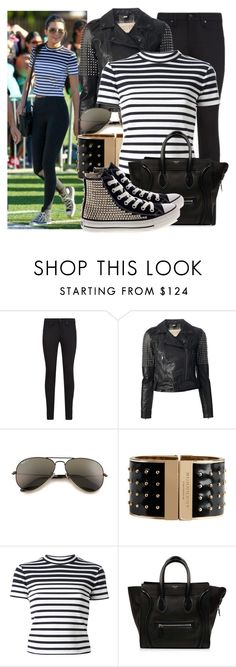 """""""Kendall Jenner"""" by justadream133 ❤ liked on Polyvore featuring rag & bone, Burberry, Ray-Ban, T By Alexander Wang, CÉLINE, Converse and kendalljenner"""