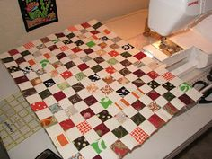 Postage Stamp Quilt-along Tutorial #1