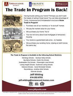 Home Trade In Program: Ambassador Trinity Homewood Homes